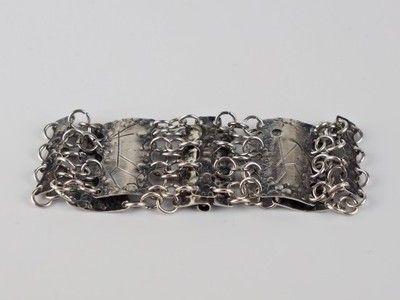 Unikatowa Bransoleta Spoldzielni Rytosztuka 6735306656 Oficjalne Archiwum Allegro Silver Bracelet Jewelry Silver