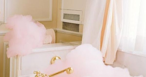 Pink Bubbles {Vogue Magazine, Ritz Hotel Paris} - look like cotton candy