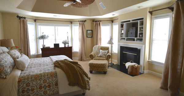 Powell Buff Wall Color Design : Walls powell buff tray ceiling decatur