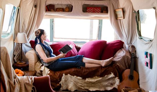 Cool Airstream Interiors | airstream trailer boho via re nest Pipe Dreams,