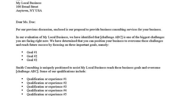 Business Cover Letter Format - (adsbygoogle = Window.adsbygoogle