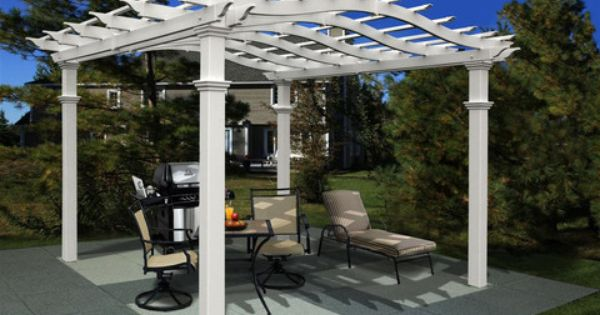 Pin On Backyard Pergolas