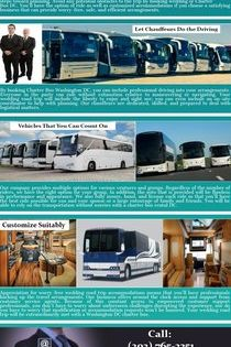 Worry Free Transportation Via Corporate Charter Bus Of Dc