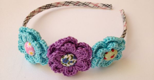 Crochet Hair With Rubber Bands : Crochet, Band and Hair on Pinterest