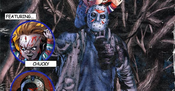 Chucky vs Leprechaun Drawings Chucky vs Jason horror