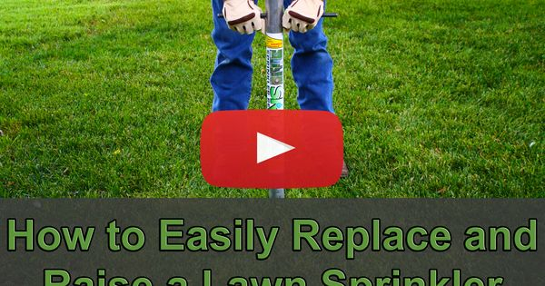 How To Easily Replace And Raise Lawn Sprinkler Heads In 3 Minutes Using The Sprinkler Removal Tool The Srt Http Www Stitools Com Lawncare Lawnmaintenance