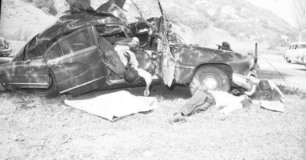 Fatal Wreck Old Amp Vintage Car Crashes Pinterest Car