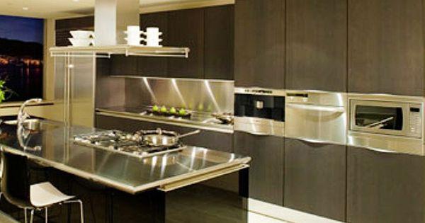 Cocinas con islas modernas cocinas completas cocinas - Cocinas de ensueno ...
