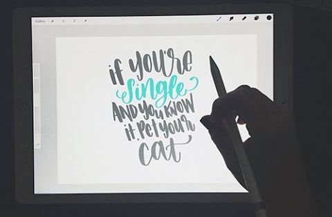 Ipad pro apple pencil hand lettering review rad
