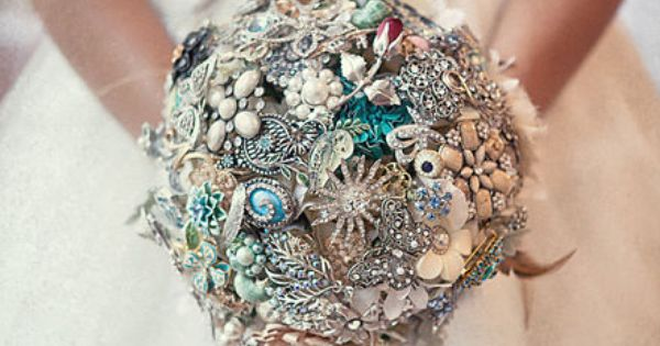 I love broach bouquets.