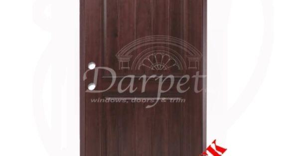 Dark Walnut Exterior Fiberglass Door | Darpet Interior Doors for Chicago Builders ://darpet.com/dw240-dark-walnut-exterior-fiberglass-door/ | Pinterest ...