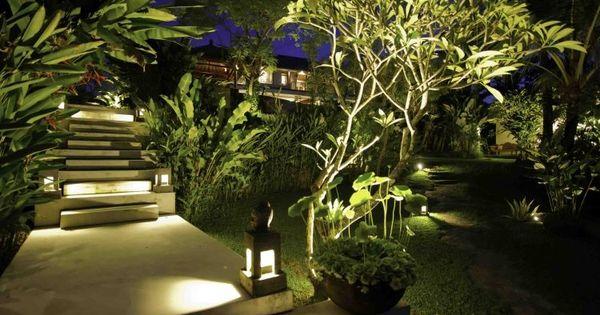 Éclairage extérieur à LED en 50 idées de luminaire de jardin  LED ...