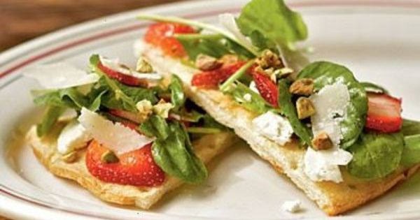 Pistachios, Goat cheese and Goat cheese pizza on Pinterest