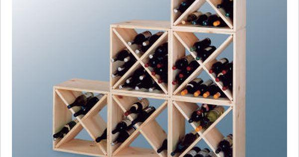 Diy wine rack for the home pinterest vink llare for Diy wine lattice