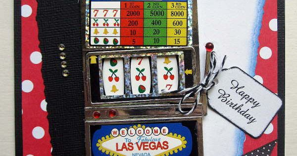 Birthday Card Gambling Slot Machine Card For My Mother In