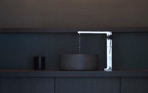 ° modern black bathroom // photo credit: Giorgio Possenti °