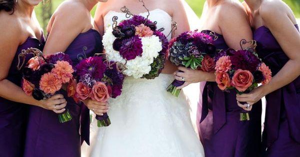 plum perfect wedding flowers denver colorado wedding party ideas pinterest wedding. Black Bedroom Furniture Sets. Home Design Ideas