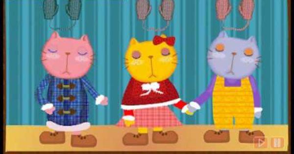 Nursery Rhymes Three Little Kittens Nursery Rhymes Preschool Themes Preschool Activities