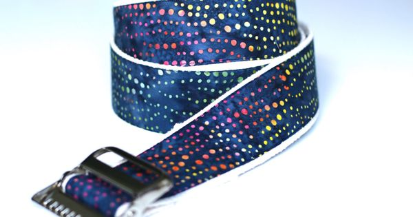 High Quality Custom Gait Belt and Badge Reel The Madison
