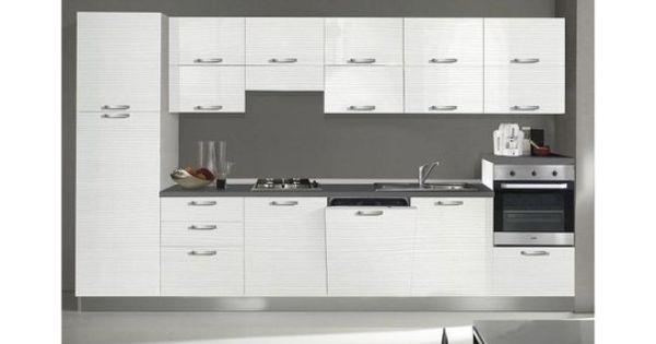 Cucina Chiara Lunghezza 360 Cm Colori Vari Conforama Con