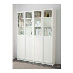 Billy Oxberg Bibliotheque Blanc 160x30x202 Cm En 2020