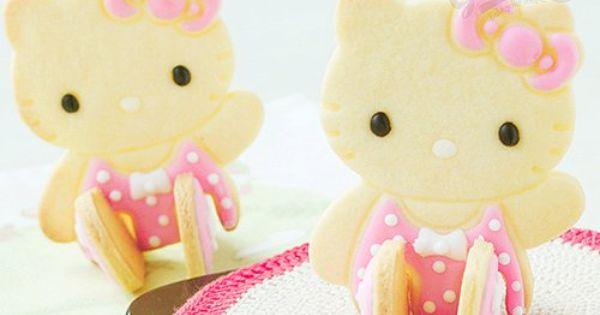 Hello Kitty Cookies food sweet cute kawaii hellokitty cookie