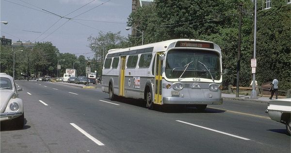 What The Mbta Buses Looked Like Back In The Day The 77