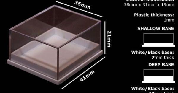 Plastic Specimen Boxes Ideal For Fossils Rocks And Minerals Rocks And Minerals Plastic Display Boxes