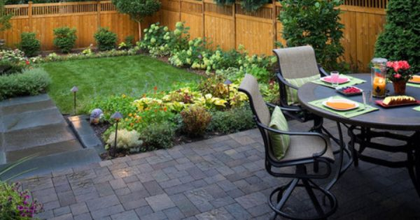 Backyard Ideas | Pinterest | Small Backyards, Small Backyard Design
