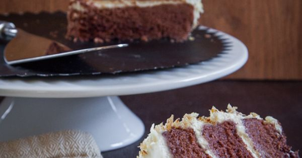 Carrot Pineapple Spice & Brownie Layer Cake With Whipped ...