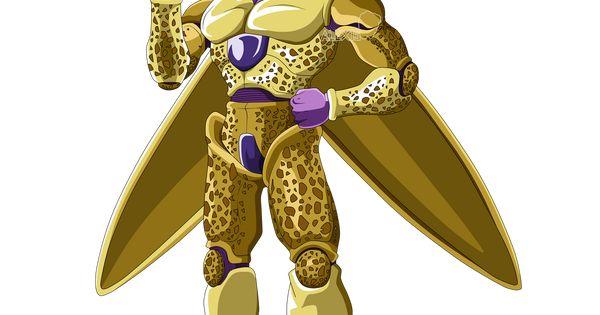 Golden Cell By Alexelz On Deviantart Personajes De Goku Personajes De Dragon Ball Dragones