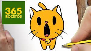 Resultado De Imagen Para 365 Bocetos Gatos Dibujos Kawaii