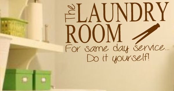 do it yourself lettering laundry room vinyl wall decal the laundry room for same 32813