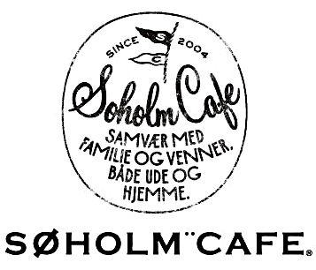 スーホルムカフェのロゴマークを制作しました タイポグラフィのロゴ