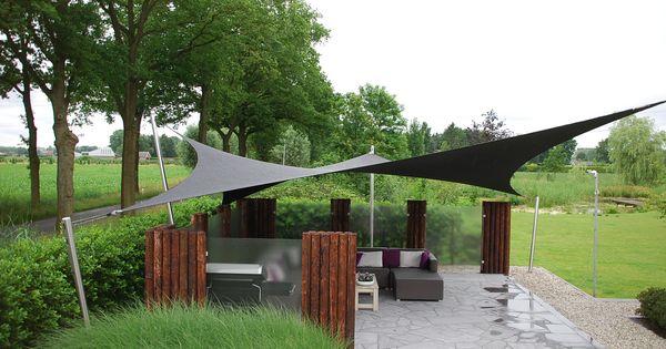 Tuin idee maak een mooi terras en geniet van een shadowart terras overkapping laat u fantasie for Maak een overdekt terras