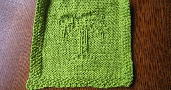 Palm Tree Dishcloth Lots If Other Patterns Here Too