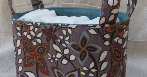 DIY Fabric Basket – Sewing Tutorial and Free Pattern Download » Radcrafter
