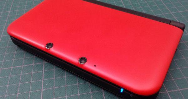 console nintendo 3ds xl rouge noir reconditionn nintendo3ds 3dsxl occasion jeux. Black Bedroom Furniture Sets. Home Design Ideas