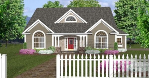 The Home Pinterest Cute House Country House Plans And The Plan