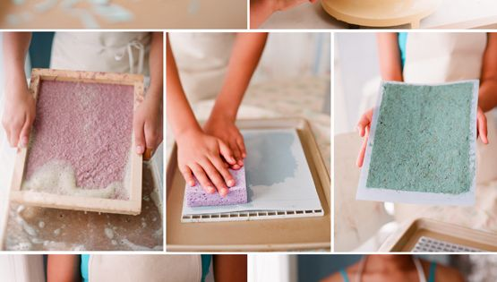 DIY beautiful tutorial on handmade paper. been wanting to make paper for