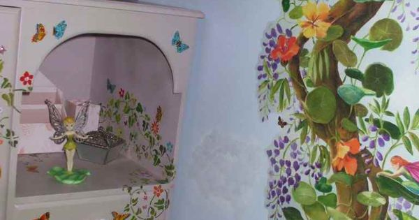 Tinkerbell Room - Illy And Belle Like This!