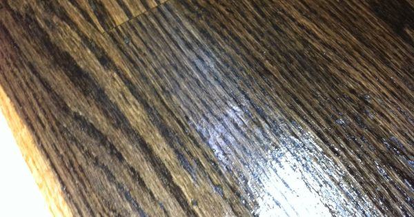One Coat Minwax Ebony Stain On Refinished Red Oak Floors