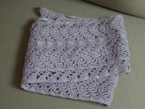 Tuto De Lécharpe Foulard En Coton Au Crochet Point De