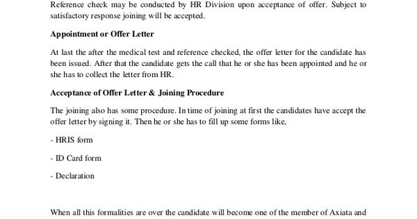 sample template loa non executive director letter appointment - offer acceptance letters