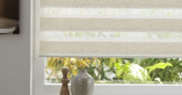 Day And Night Polyester Roller Blind In Linen Effect W 180 X L 160cm 5052931315277 In 2020 Cream Roller Blinds Roller Blinds Living Room Blinds