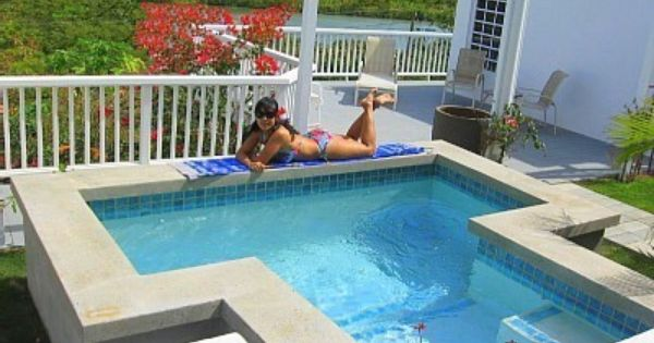 Chocolate Hole Vacation Rentals Villa Rentals Homeaway Plunge Pool Swim Spa Inground Pools