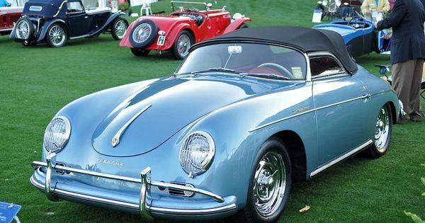 1956 Porsche 356 Speedster Porsche 356 Pinterest