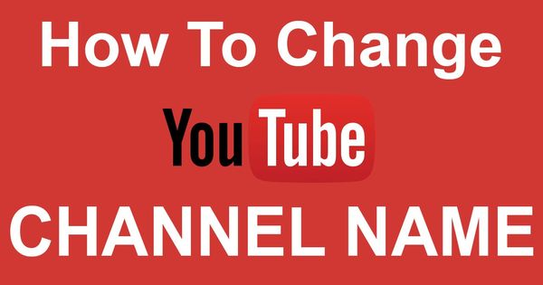 change tube channel name