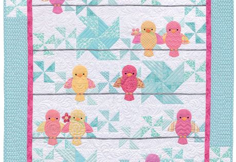 Animal Parade Quilt Pattern By Cheri Leffler Baby Quilts