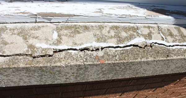 How To Repair A Concrete Window Sill Window Sill And Window